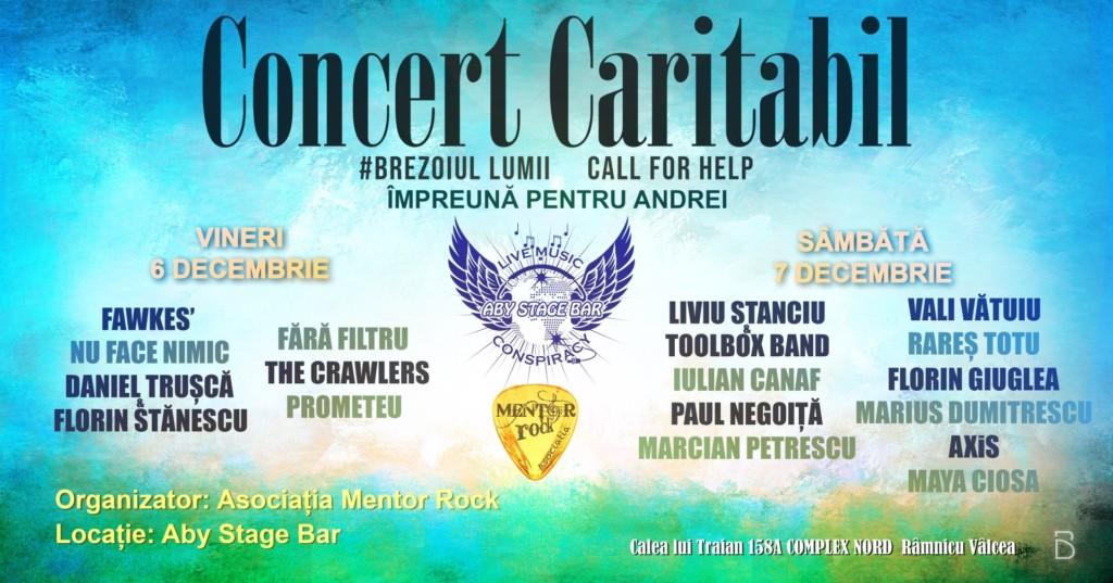Concert caritabil, Rm Valcea